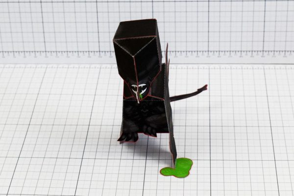 PTI - Xenomorph Alien Fan Art Paper Toy Craft Image - Front
