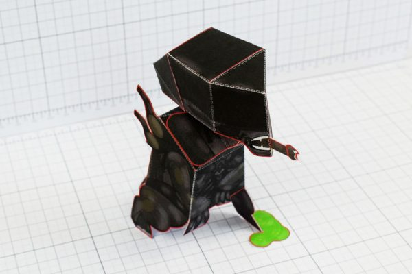 PTI - Xenomorph Alien Fan Art Paper Toy Craft Image - Top