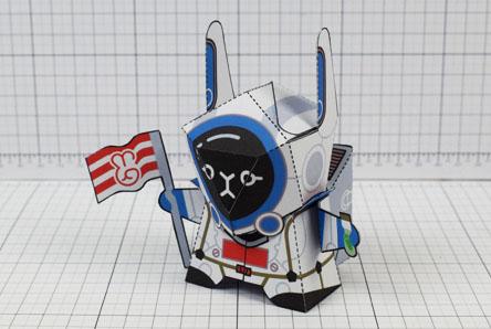 THU Moon Rabbit Paper Craft Image - Thumbnail