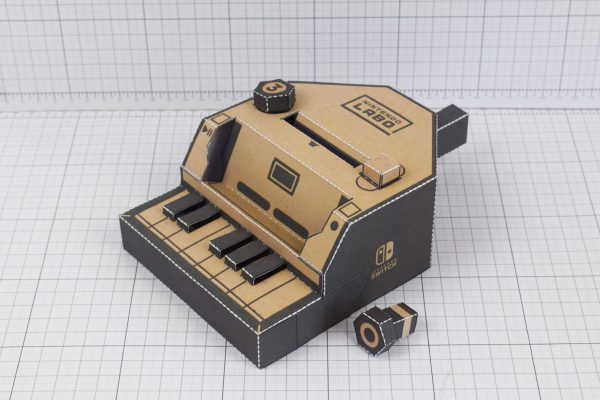 PTI Nintendo Switch Labo Piano paper toy craft download - No Screen