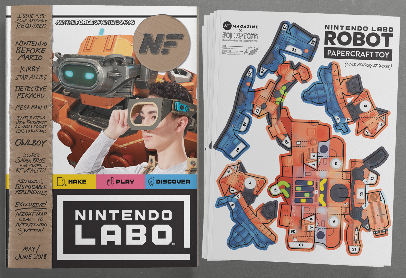 NF Cover And Toy Spread