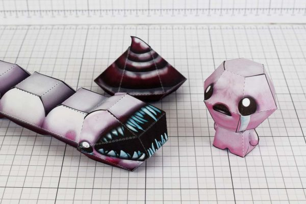 PTI- Binding of Isaac - Larry Jr Paper Toy Image - Size
