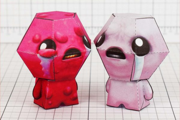 PTI - Binding of Isaac - Lust paper toy - Isaac