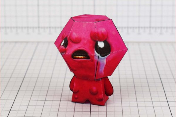 PTI - Binding of Isaac - Lust paper toy - Side 1
