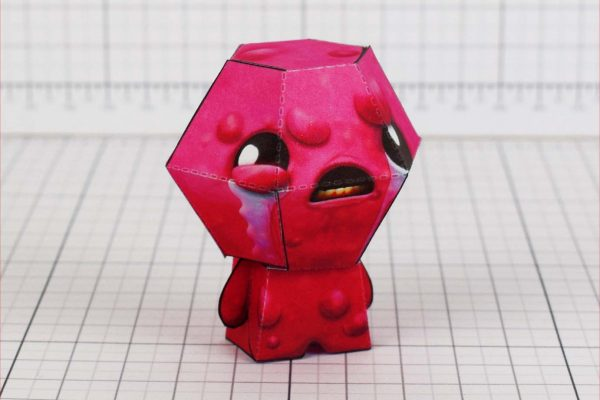 PTI - Binding of Isaac - Lust paper toy - Side 2