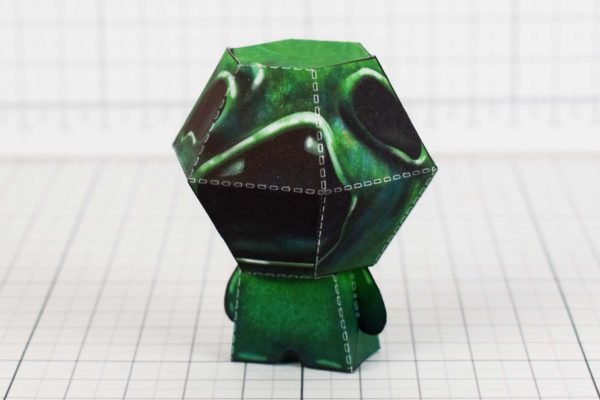 PTI- Binding of Isaac Paper Toy - Sloth Image - Side 2