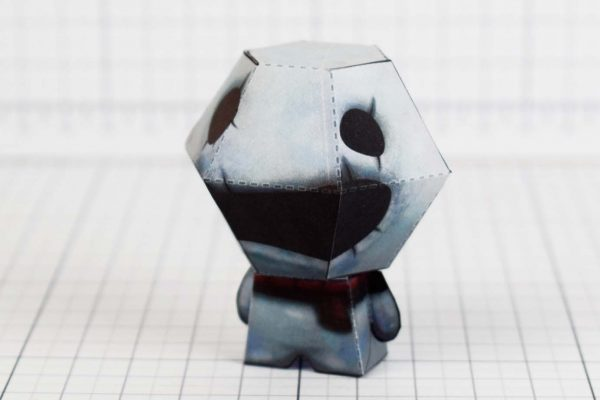 PTI - Greed - Binding of Isaac paper toy image - Side A