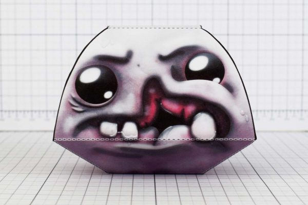 PTI - Monstro - Binding of Isaac - Paper Toy Image - Front