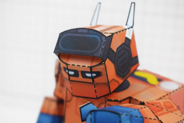 PTI - Nintendo Labo Robot Paper Toy Craft Image - B Close Up