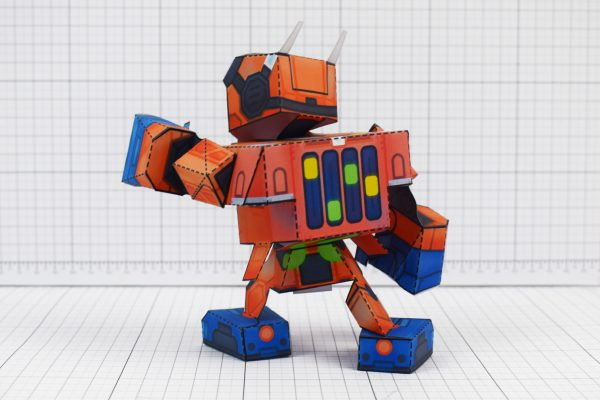 PTI - Nintendo Labo Robot Paper Toy Craft Image - Back