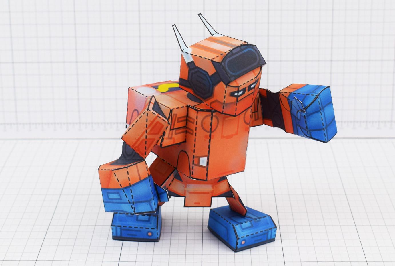 PTI - Nintendo Labo Robot Paper Toy Craft Image - Main