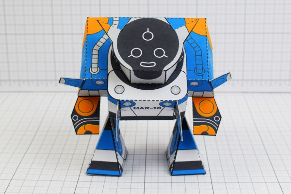 PTI Patreon March - Utilitrap Paper Toy Photo - Front