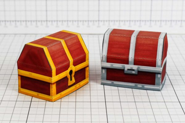 PTI- Pin - the binding of isaac paper toy crafr image - Chest