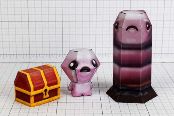 PTI- Pin - the binding of isaac paper toy crafr image - Isaac