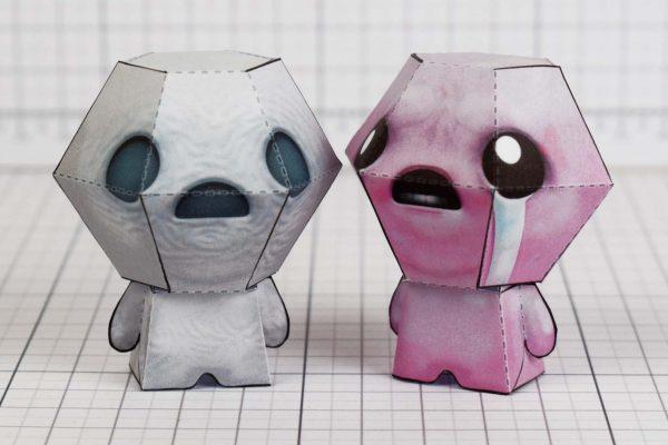 PTI- Pride - Bidning of Isaac paper toy Image - Isaac