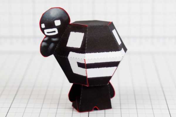 PTI- Steven - Binding of Isaac Paper Toy Image - Side B - Time Fcuk