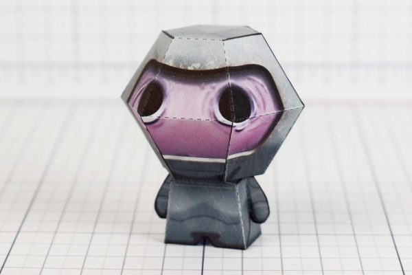 PTI - Wrath - Binding of Isaac paper toy Image - Side A
