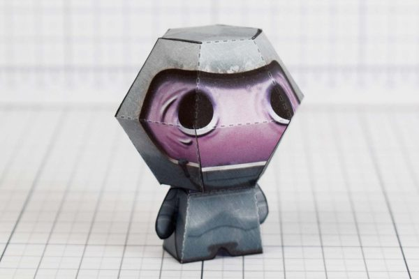 PTI - Wrath - Binding of Isaac paper toy Image - Side B