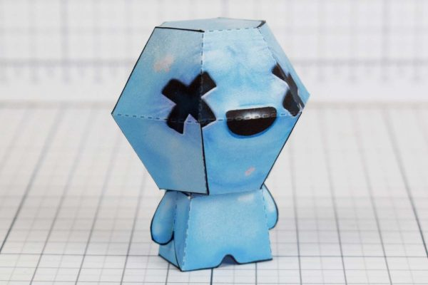 PTI - Blue Baby - Binding of Isaac paper toys image - Side B