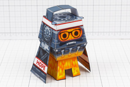 THU - Forge Hope Works Paper Toy Image - Thumbnail