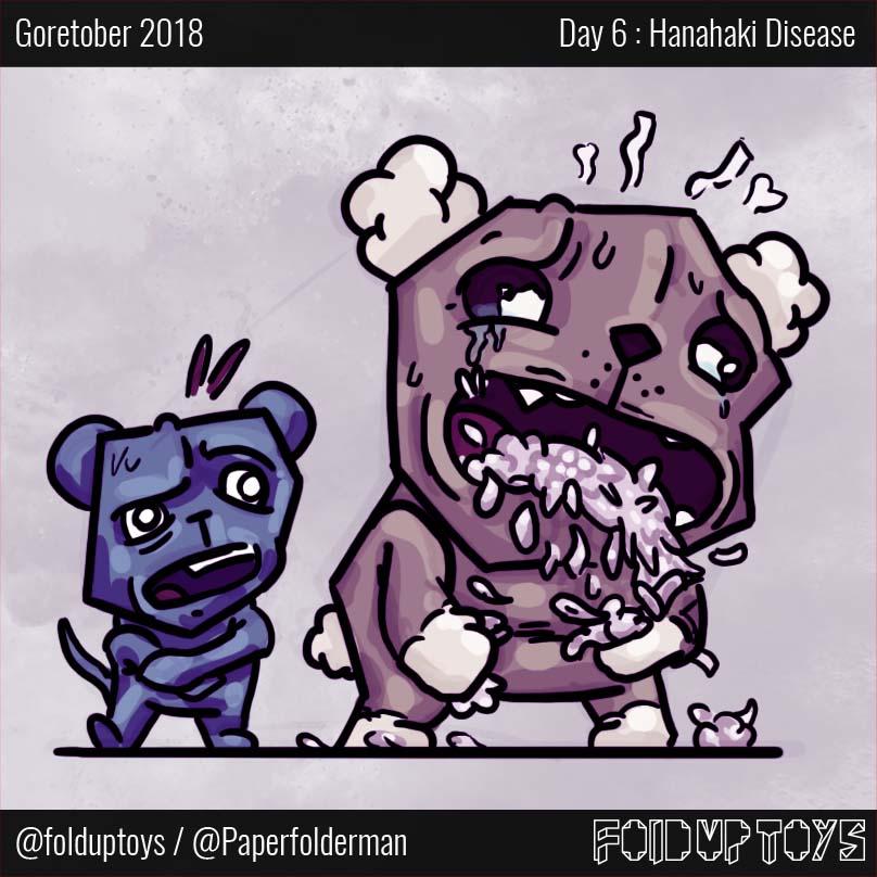Alex Gwynne - Fold Up Toys - Day 6 Hanahaki Disease
