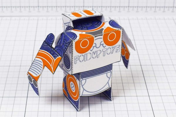 PTI- Simple Paper Toy Robot - SPTR93 - Image Back