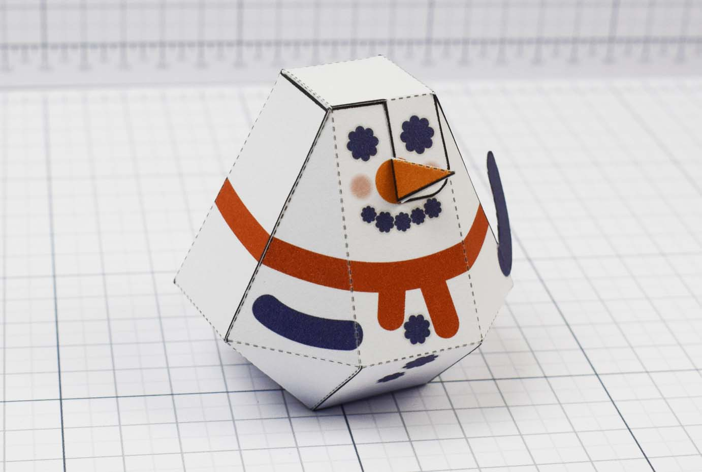 PTI - Christmas Paper Toy Craft Decoration - Slowblow Image - Main