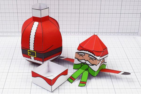 PTI - Twinkl Christmas - Ballencing Santa and Snowman - Image Neck