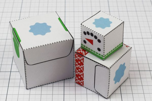 PTI- Twinkl Christmas - Minimal Block Snowman - Image Pile C
