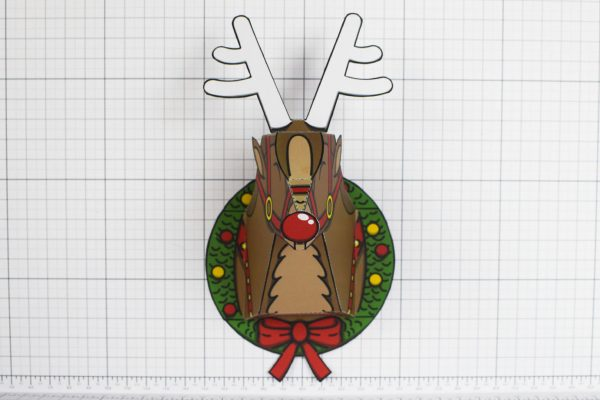 PTI - Twinkl Christmas - Reindeer Head Decoration - Image Front