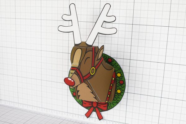 PTI - Twinkl Christmas - Reindeer Head Decoration - Image Next
