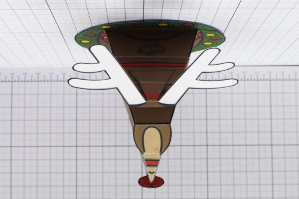 PTI - Twinkl Christmas - Reindeer Head Decoration - Image Top