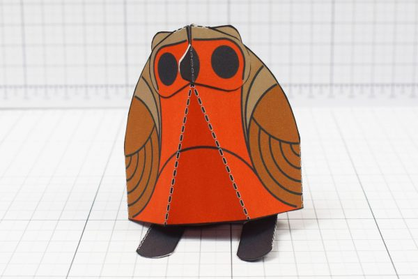 PTI - Twinkl Christmas - Simple Robin Paper Toy Decoration Front