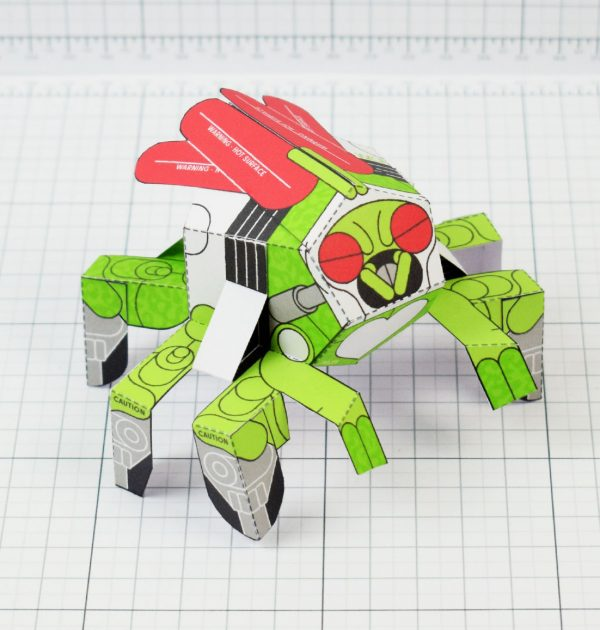 PTI - Doubt Fly Monster Paper Toy Bug Insect - Image Main square