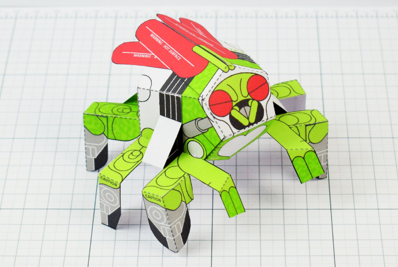 PTI - Doubt Fly Monster Paper Toy Bug Insect - Image Main