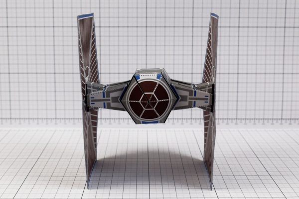 PTI - ENKL Twinkl Star Wars Tie Fighter Paper Toy Image - Front