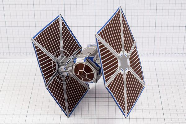 PTI - ENKL Twinkl Star Wars Tie Fighter Paper Toy Image - Swoop