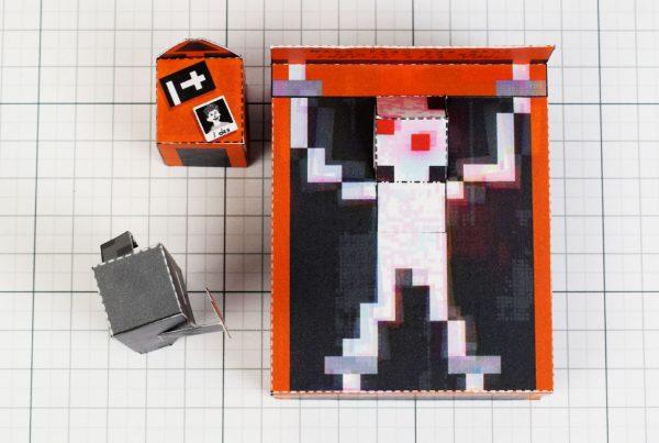 PTI - Faith exorcism exorcist Paper Toy Image - Above