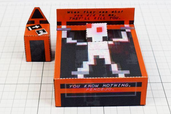 PTI - Faith exorcism exorcist Paper Toy Image - Demon