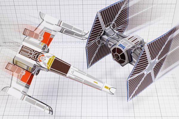 PTI - ENKL Twinkl Star Wars paper toy image - prime