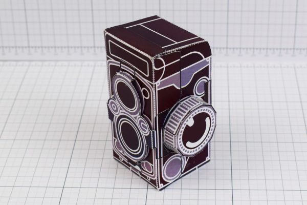 PTI - ENKL Twinkl Vintage Camera Paper Toy Craft Models photo - 1