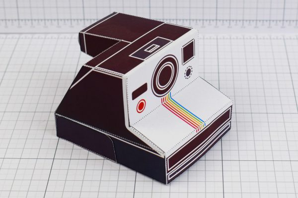 PTI - ENKL Twinkl Vintage Camera Paper Toy Craft Models photo - 2