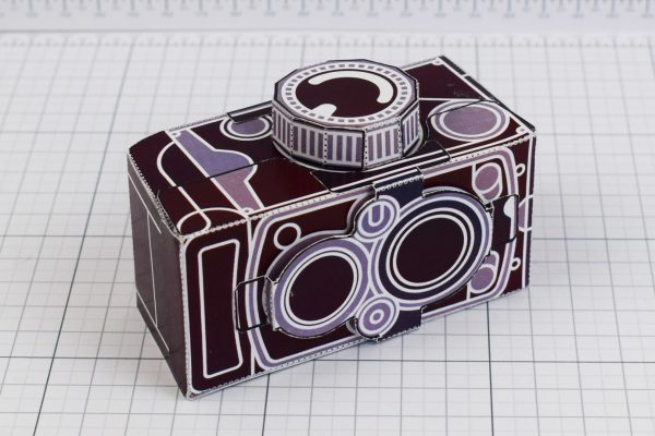 PTI - ENKL Twinkl Vintage Camera Paper Toy Craft Models photo - 4