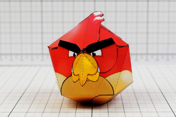 PTI - Angry Birds Promotional Paper Toy Image - Front