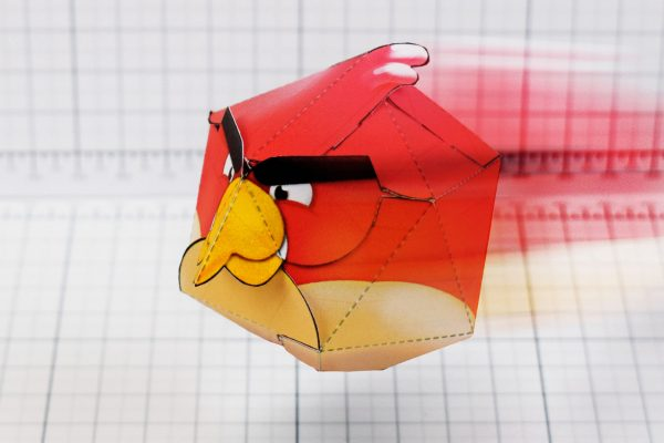 PTI - Angry Birds Promotional Paper Toy Image - Main