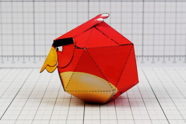 PTI - Angry Birds Promotional Paper Toy Image - Side