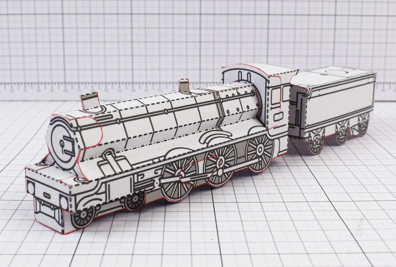 PTI - Simple Locomotive Photo - 1
