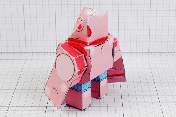 PTI - Summer Revo Paper Toy Image - Back