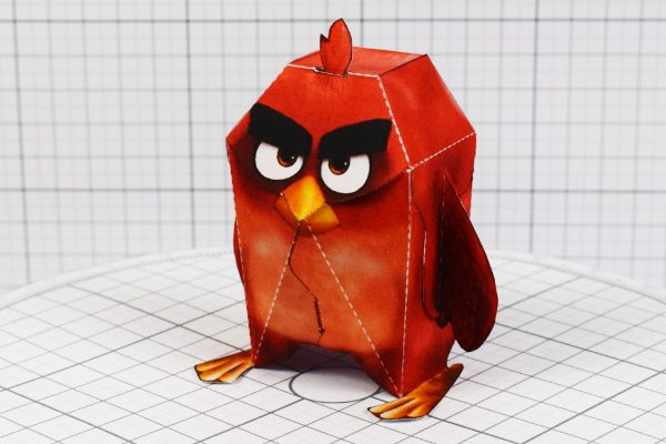 PTI - Angry Brid Movie Paper Toy Promotional Kids Meal - Main