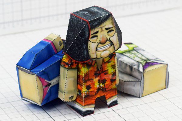 PTI- Bad Pen Project Paper Toys Photo - Bodys
